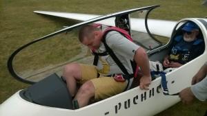 Dokowanie w kabinie :) - z tylu mistrz drugiego planu i pilot w jednym :)