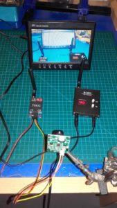 Test transmisji video